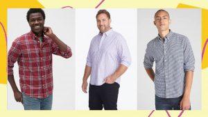 We Found No-Tuck Men's Button-Down Shirts With A Short Hemline